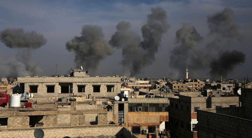 syrie attaque au gaz