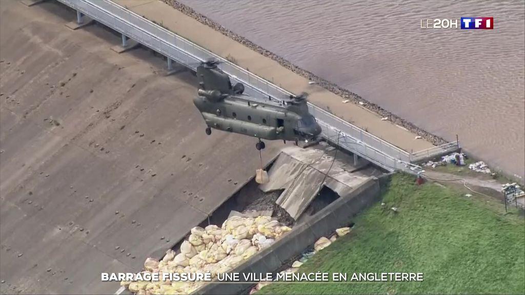 Angleterre : un barrage menace de s'effondrer