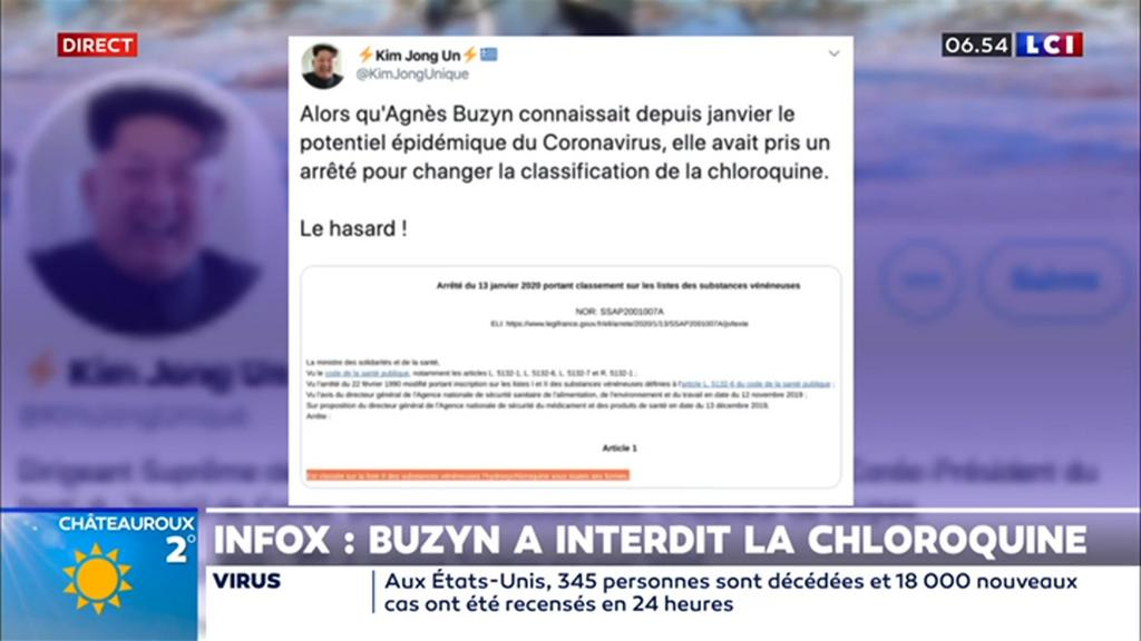 Infox : non, Agnès Buzyn n'a pas interdit la chloroquine