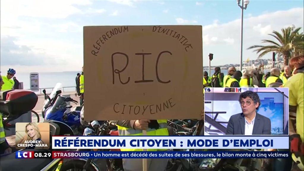 Référendum citoyen : mode d'emploi ?