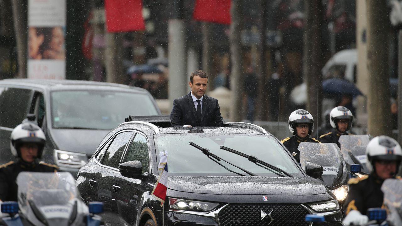 Voiture Pr 233 Sidentielle Emmanuel Macron Circulera En Citro 235 N Ds7 Crossback Lci