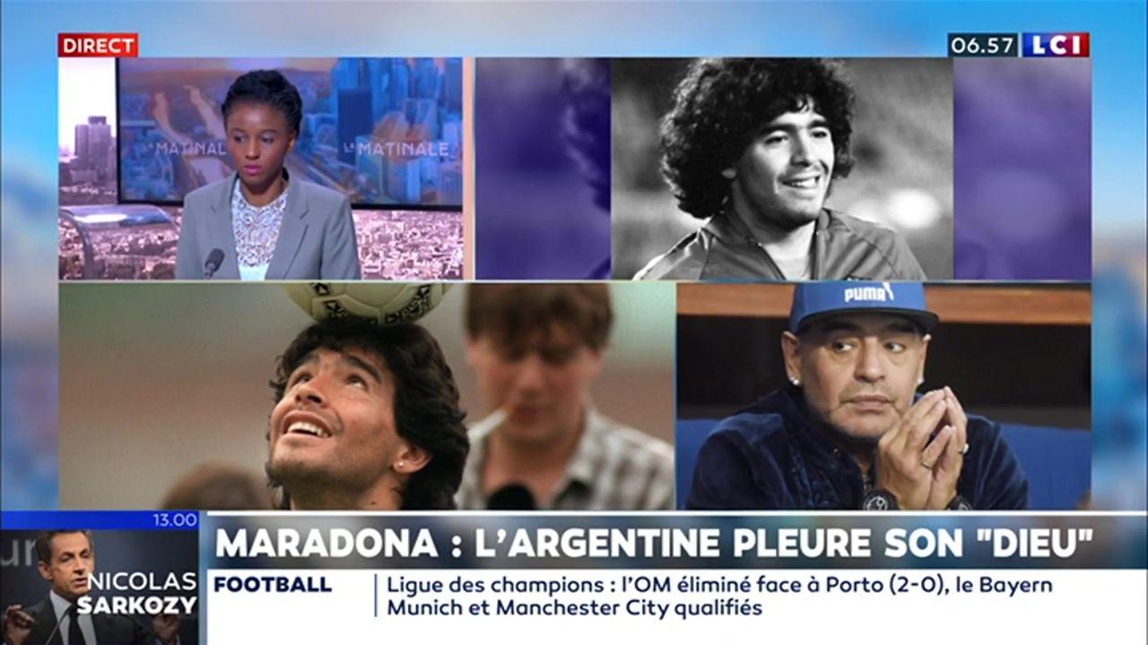 "Maradona : l'Argentine pleure son ""dieu"""