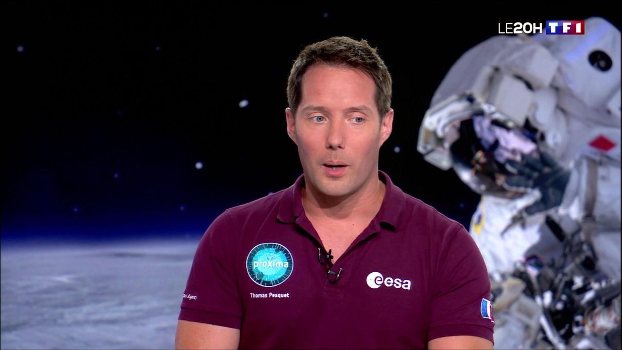 Thomas Pesquet : reconquérir la Lune ?