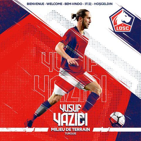 EN DIRECT - Mercato 2019 : Lille officialise le gros coup Yusuf Yazici