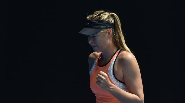 Dopage : Maria Sharapova pourra rejouer juste avant Roland-Garros...