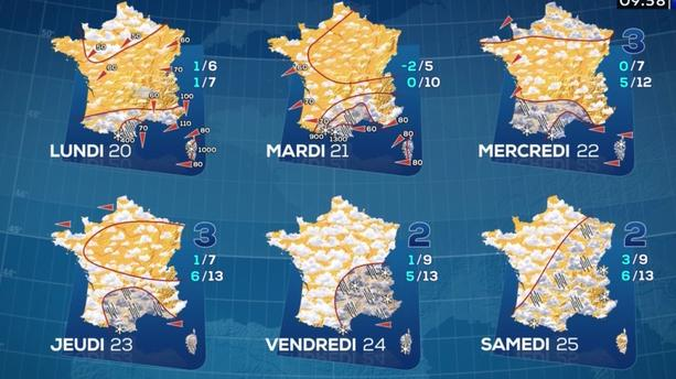 "Tempête Gloria : un épisode d'intempéries ""majeures"" va frapper l'extrême sud de la France, consultez les prévisions"
