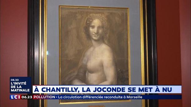 A Chantilly, la Joconde se met à nu