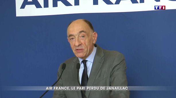 Air France : le pari perdu de Janaillac