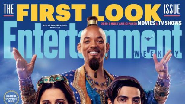 """Aladdin"" : qu'est-ce que c'est que ce look, Will Smith ?"