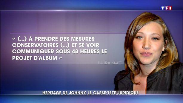 Album posthume de Johnny : Laura Smet et David Hallyday demandent un droit de regard