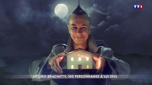 Arturo Brachetti, 100 personnage à lui seul