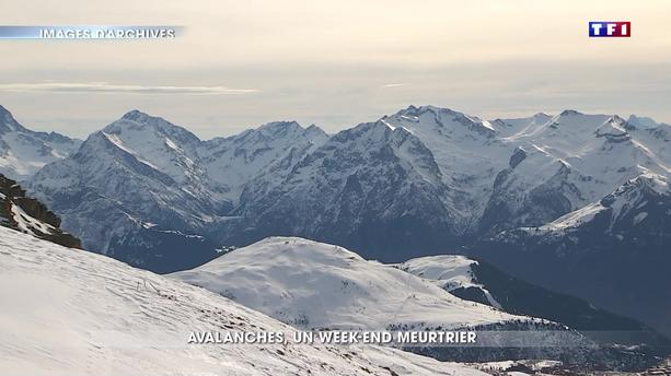 Avalanches : neuf morts ce week-end, trois personnes toujours portées disparues ce lundi