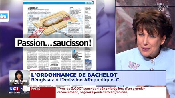 "Bachelot : ""Vive le saucisson !"""