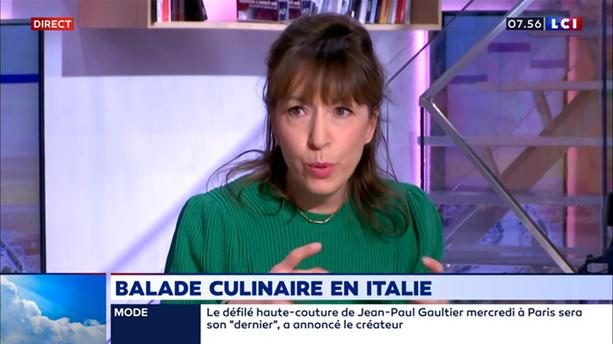Balade culinaire en Italie