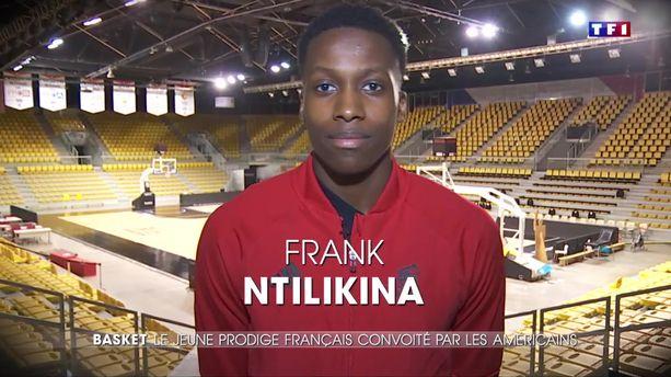 Portrait : Frank Ntilikina, jeune prodige du basket français