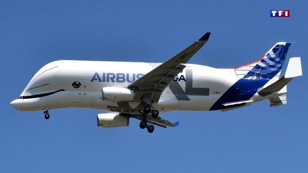 Coloriage Avion Cargo.Video Beluga Xl La Baleine Geante D Airbus A Pris Son Premier