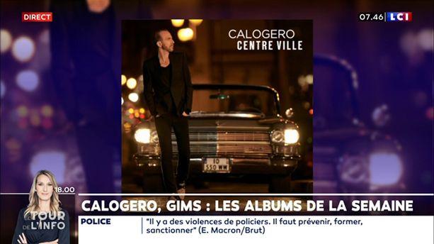 Calogero, Gims : les albums de la semaine