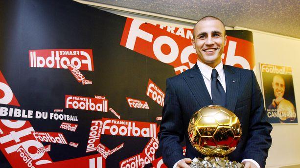 "Pour Cannavaro, Cristiano Ronaldo ""est celui qui mérite"" le Ballon d'Or 2016"