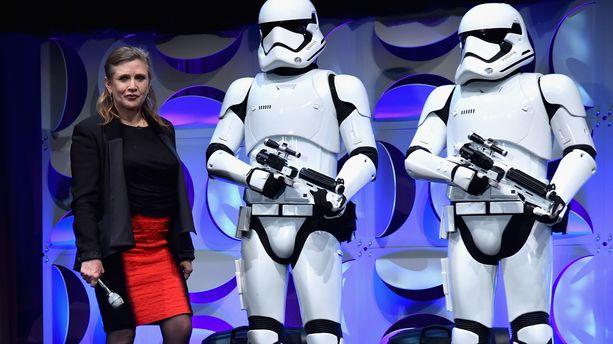 "Carrie Fisher ne sera finalement pas dans ""Star Wars 9"""