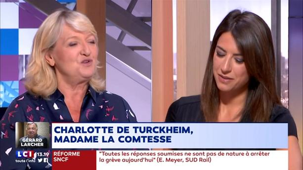 Charlotte de Turckheim, madame la Comtesse