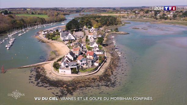 Confinement : le Morbihan vu du ciel