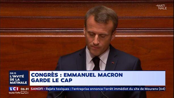 Congrès de Versailles : Emmanuel Macron garde le cap