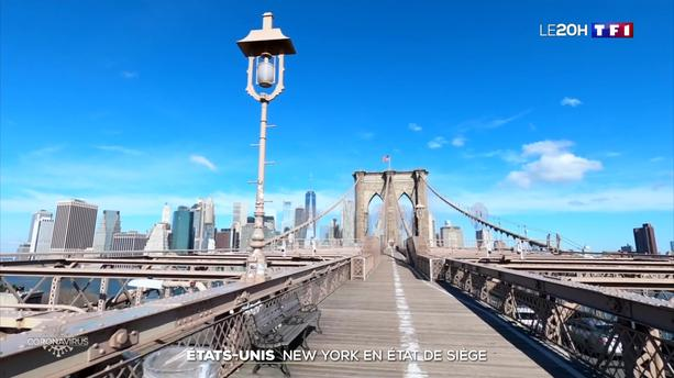 Coronavirus aux États-Unis : New York en état de siège