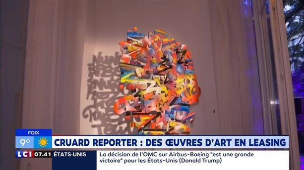 Cruard Reporter : des œuvres d'art en leasing