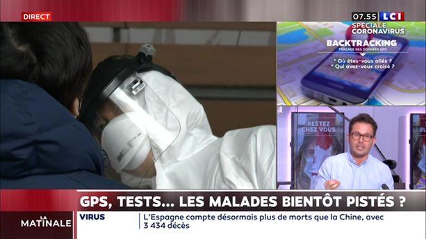 Cruard Reporter : GPS, tests ... les malades bientôt pistés ?