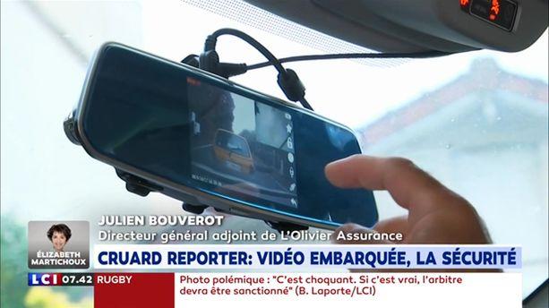 Cruard Reporter : Vidéo embarquée, la sécurité