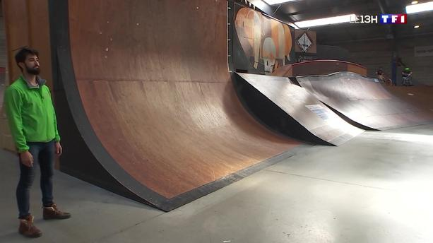 Des skateparks pour s'entraîner à la glisse