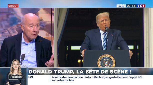 Donald Trump, la bête de scène !