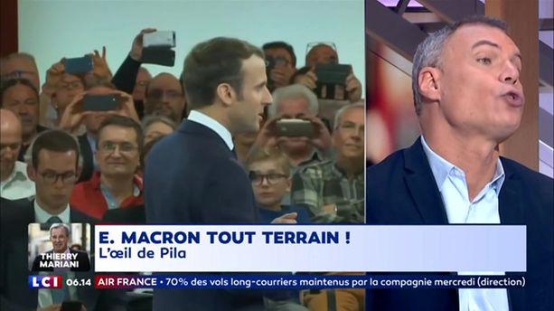Emmanuel Macron, tout terrain !