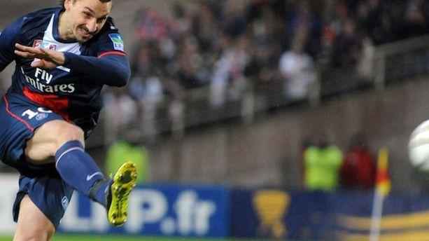 Coupe de la Ligue : Ibra douche Nantes