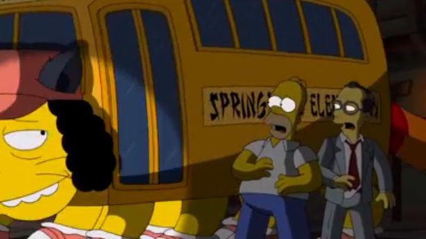 VIDEO - Les Simpson rendent hommage à Miyazaki