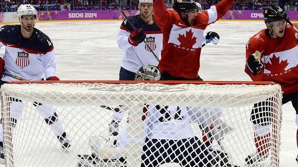 Hockey : le Canada assomme les Etats-Unis
