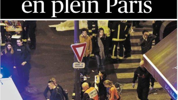 Attentats de Paris : la presse tétanisée par les attaques