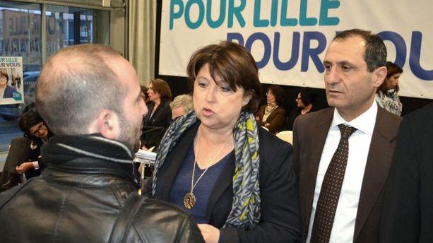A Lille, Martine Aubry accélère sa campagne