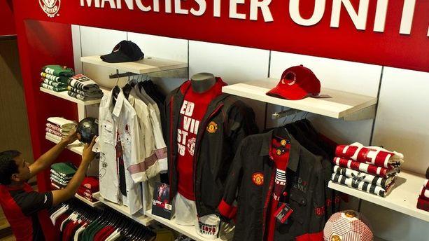 Football : Manchester United champion… du marketing
