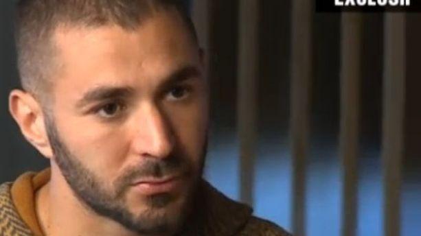 "Sextape de Valbuena : Karim Benzema ""espère que ça va bien se terminer"""
