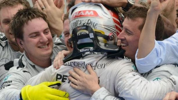 GP de Malaisie : Lewis Hamilton en patron