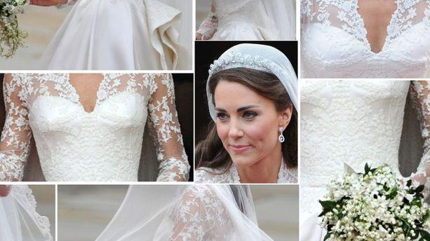 La robe de marie de kate middleton