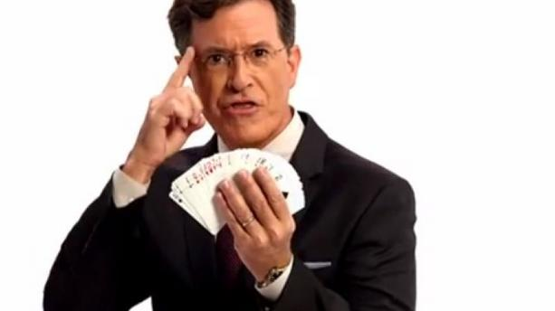 "VIDEO - ""Late Show"" : Stephen Colbert, prêt à prendre la relève de David Letterman !"