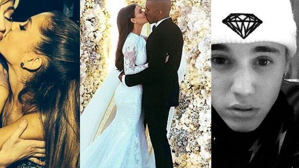 Instagram en 2014 : Kim Kardashian, Justin Bieber, Ariana Grande et... le Louvre