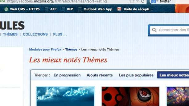Astuce geek: personnalisez le design de Firefox