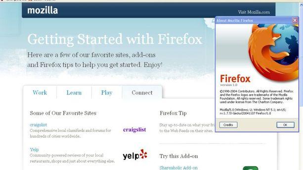 Firefox : 10 ans d'innovations en images