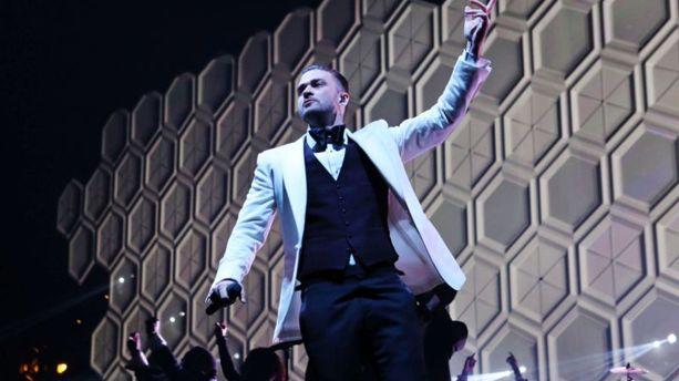 Justin Timberlake en patron au Stade de France