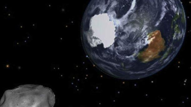 Un astéroïde a frôlé la Terre mercredi