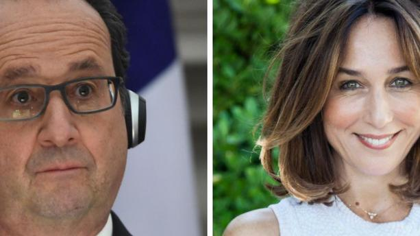 François Hollande en Inde : il a emmené Elsa Zylberstein dans ses valises