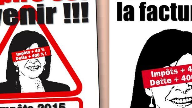 Affiches anti-Hidalgo : Nicolas Miguet récidive